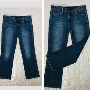 CK Calvin Klein Jeans Boot Cut white wash Jeans